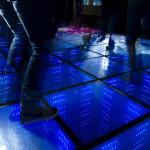 podłoga interaktywna - parkiet do tańca