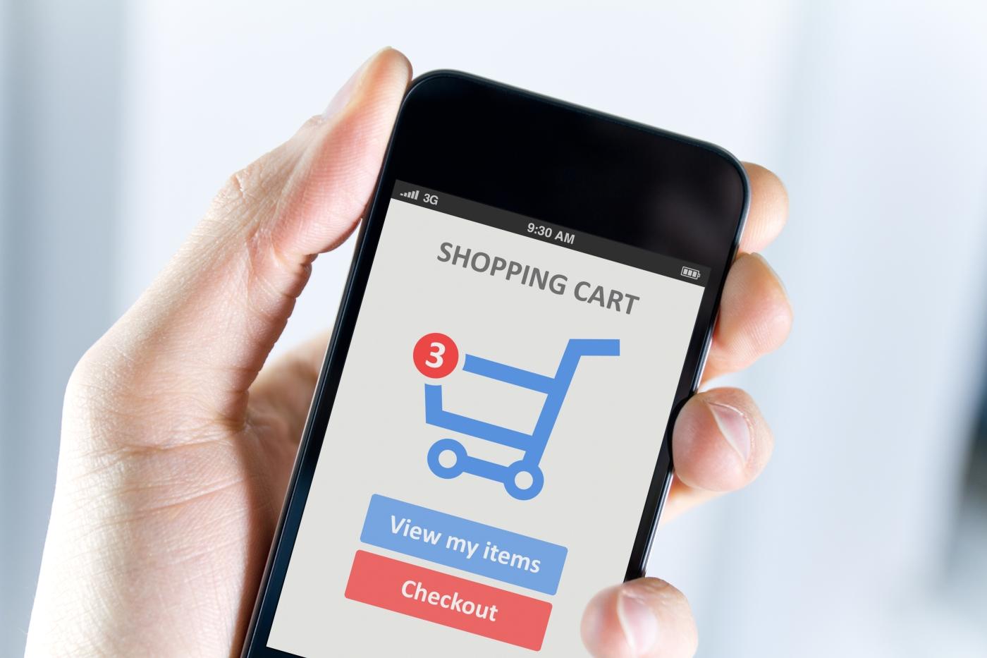 zakupy mobilne