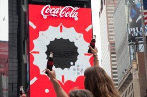 Coca-Cola z pierwszą na świecie robotyczną reklamą 3D na Times Square