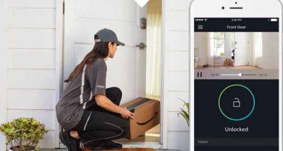 fot. Amazon wpuści do Twojego domu kuriera, gdy będziesz nieobecny