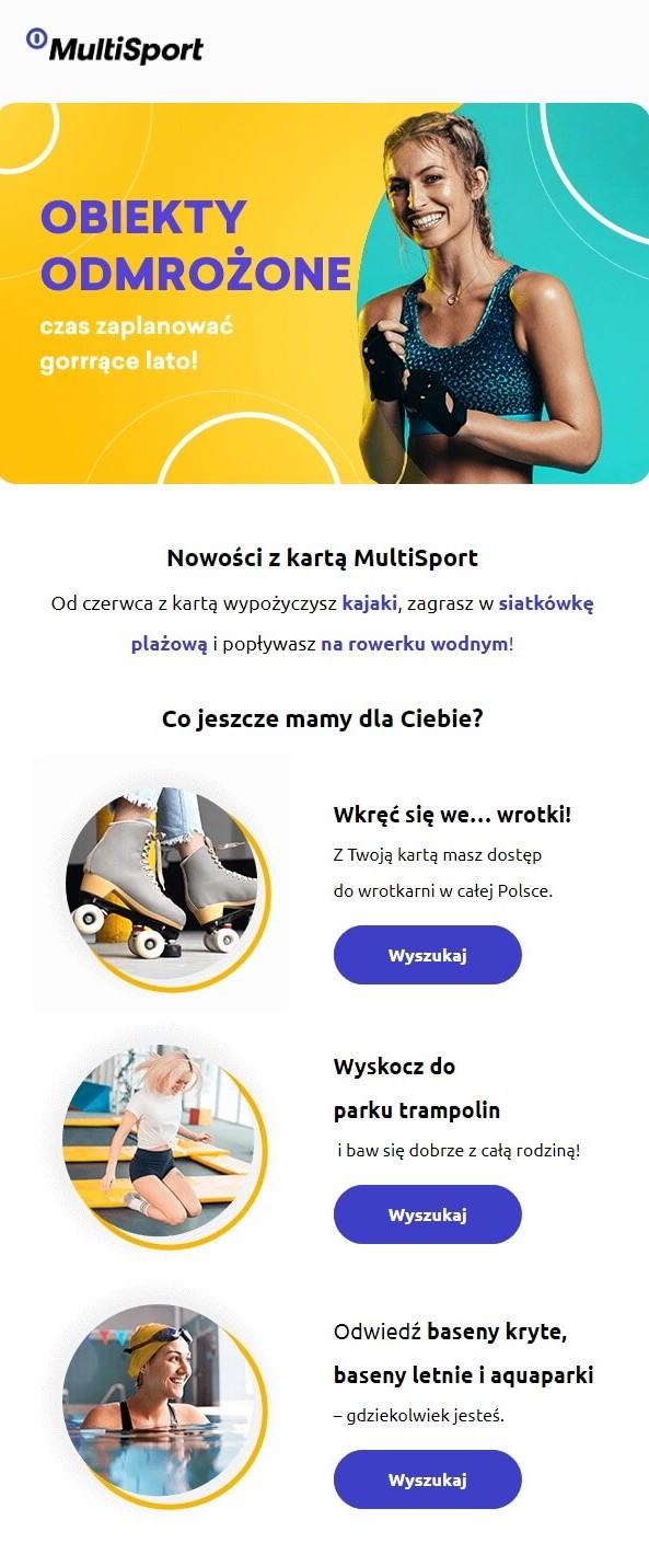 mailing Multi Sport